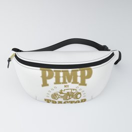 tractors farm farmer tractor cow gift Fanny Pack