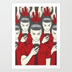 Passive Art Print