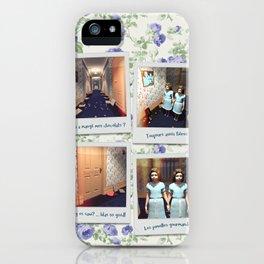 Jumelles et Chocolat iPhone Case