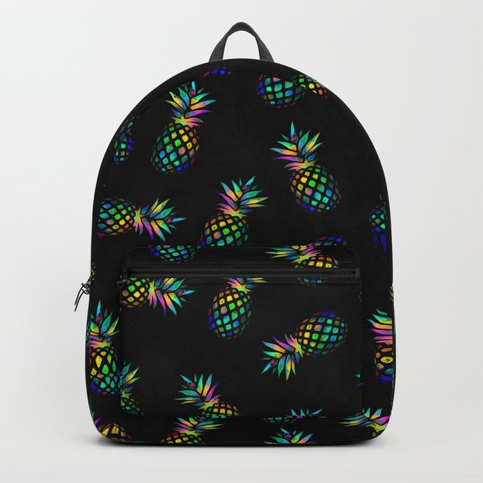 Iridescent pineapples Backpack