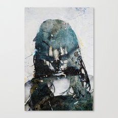 Tousled bird mad girl 2 Canvas Print