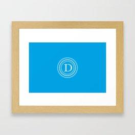 The Circle of D Framed Art Print