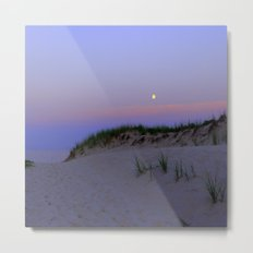 Nighttime at the Beach Metal Print