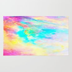 Abstract Galaxy Bright Colorful Rugs