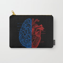 Heart and Brain Carry-All Pouch