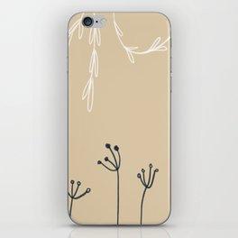 Wreathe & Flowers iPhone Skin