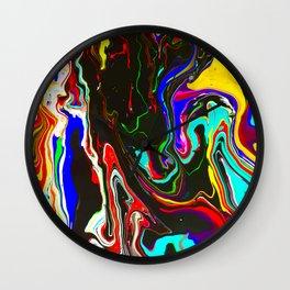 Cosmic Paint Job Wall Clock