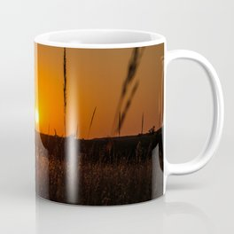North Dakota Sunset Coffee Mug