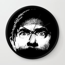 Bela Lugosi creepy eyes Dracula Wall Clock