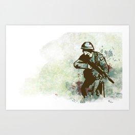 Memorial Day Art Print