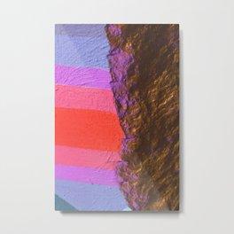 two sides Metal Print