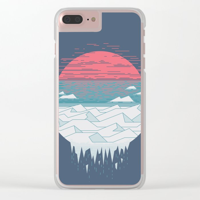 The Great Thaw Clear iPhone Case