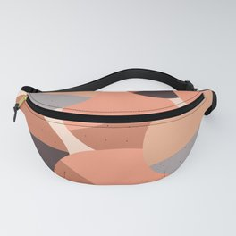 Abstraction_CIRCLES_001 Fanny Pack