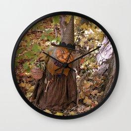 Rucus Studio Hag of the Woods Wall Clock