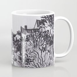 Street in Saintes-Maries by Vincent van Gogh Coffee Mug