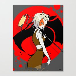 Roller Cheetara Canvas Print