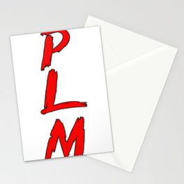 p l m lettres .plm written letters Stationery Cards