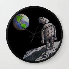 Sad Robot Wall Clock