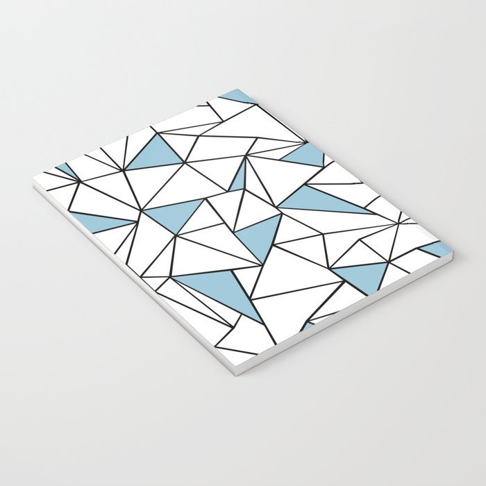 Ab Out Blue Blocks Notebook