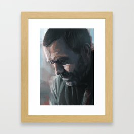 House MD Framed Art Print