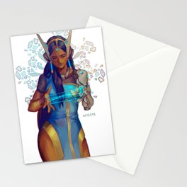 Symmetra - Cat's cradle Stationery Cards