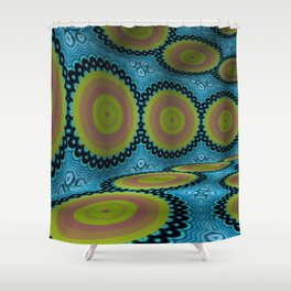 Iconic Hollows 3 Shower Curtain