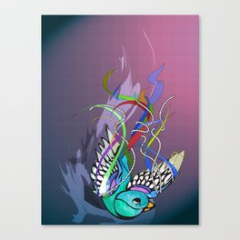Julius (night version) Canvas Print