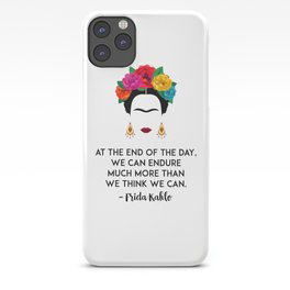 Frida's Strength iPhone Case