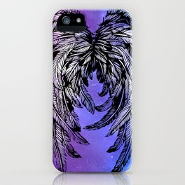 Galaxy Angel Wings iPhone Case