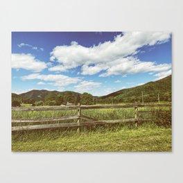 Fencing •Appalachian Trail Canvas Print