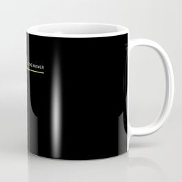 TR 909 Is The Answer The 90's Drums Coffee Mug