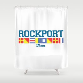 Rockport Texas. Shower Curtain