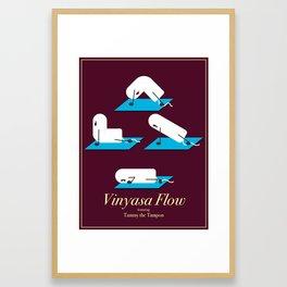 Vinyasa Flow with Tammy Framed Art Print