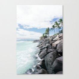 Edge of the Island Canvas Print