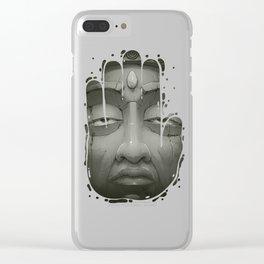 Buddha III Clear iPhone Case