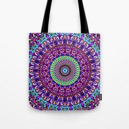 Pretty Gravel Mandala Tote Bag