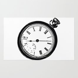 Pocket Watch Rug
