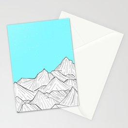 Glacier Mounts Stationery Cards