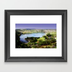 Leg of Lamb Lake Framed Art Print