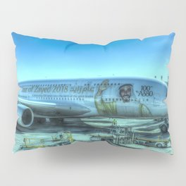 Emirates Airbus A380-800 Pillow Sham