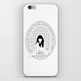 Who's that girl? It's Jess! iPhone Skin