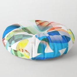 Retro Shapes Floor Pillow
