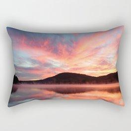 Glory: A Spectacular Sunrise Rectangular Pillow