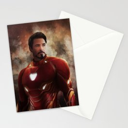 Man Iron (Infinity War) Stationery Cards