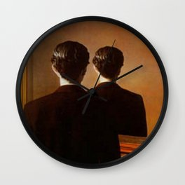 Not to be Reproduced - Rene Magritte Wall Clock