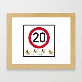 20 anniversary Framed Art Print