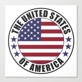 The United States of America - USA Canvas Print
