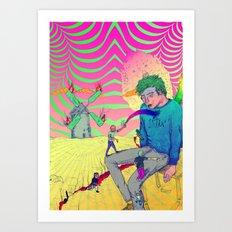 Marinero - Chican@ Art Print