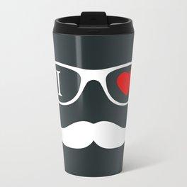 Hipster Metal Travel Mug