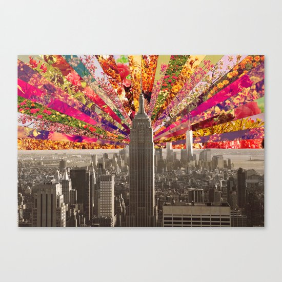 BLOOMING NY Canvas Print